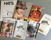 Millinery Hat making books and patterns