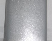 Ready To Ship! 8-oz Glitter Blast Silver Stainless Steel Liquor Flask + FREE  Flask Funnel + In-Country Shipping! More Color Options Inside!