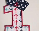 Iron On Applique - Sailor Birthday