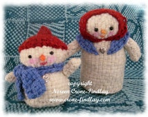 Snow Folk Dolls to weave on the potholder loom designed by Noreen Crone-Findlay