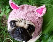 Piglet Dog Hat - Pug Hat
