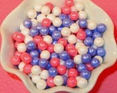 Princess Blend Candy Beads 7MM  (3 Oz)  Cake or Cupcake Candy Beads, Cake or Cupcake Toppings