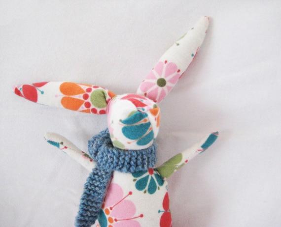 Rabbit PDF PATTERN, Easter Bunny Sewing Pattern