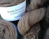 North Ronaldsay yarn, 225m/50gram, hand dyed Java
