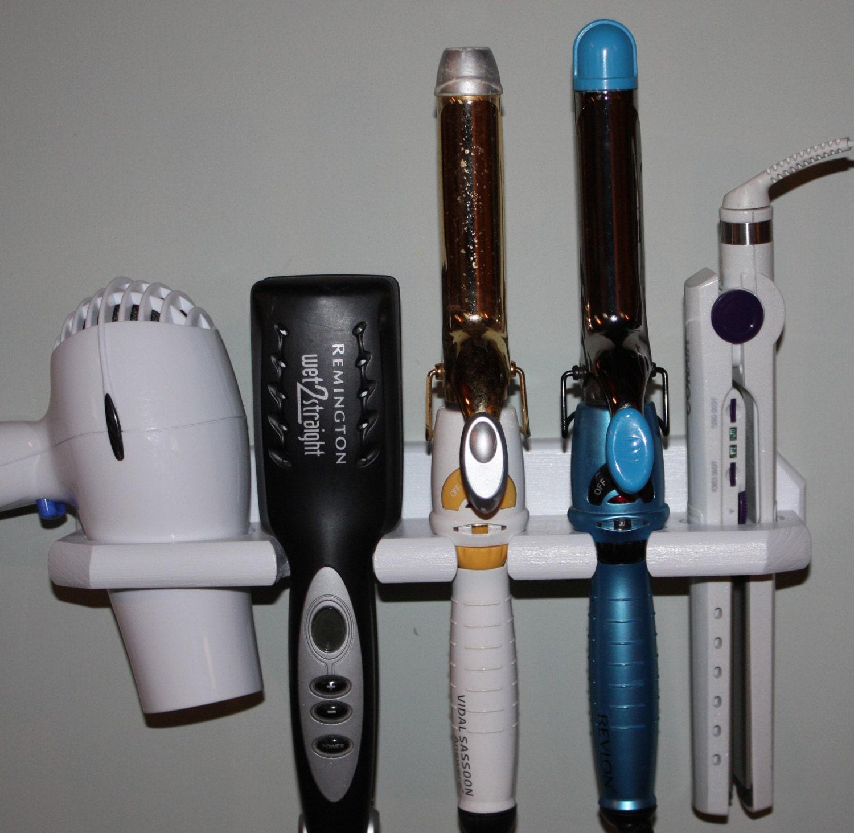 Bathroom Organizer Hair Blow Dryer by northwoodscrafts on Etsy