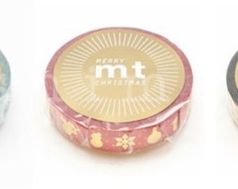 SALE ITEM - mt 2013 christmas masking tapes - special edition - single - 10mm x 10m x 1pc