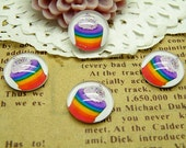 Handmade Glass Cabochon 10pcs 12mm Image Glass Cabochon P92--20% OFF