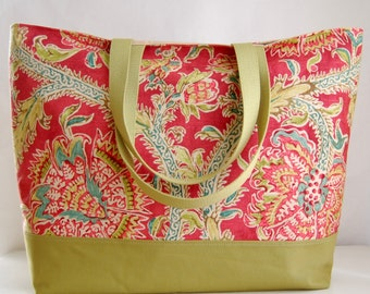 Holi Festival XL Extra Large BIG Tote Bag / Beach Bag - Ready to Ship