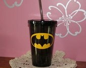 Batman Personalized Acrylic Tumbler - 16 oz.