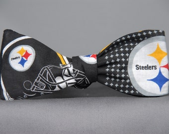 Deluxe Pittsburgh Steelers  Bow tie