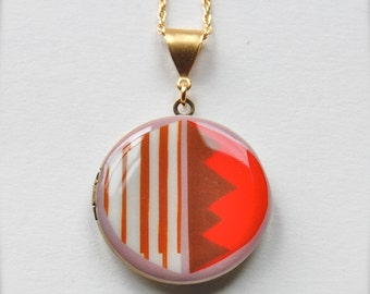 "Art Locket Alyson Fox ""Candy"" Necklace"