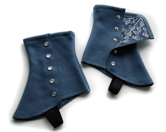 SALE! Slate Short Spats - One Size Fits Most