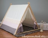 Kids Ruffle Teepee Play Tent - IN STOCK