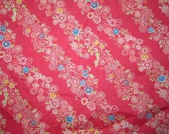 Lightweight flower fabric