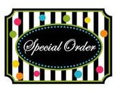 Special Order for GCohn