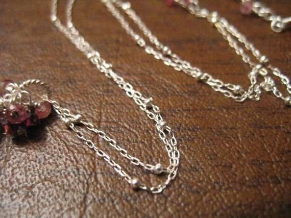 Sterling Silver Chain, by foot, 1 mm Satellite Chain, 10-35% Less Bulk Chain, Wholesale Chain, delicate dainty tiny ss.S17 hp