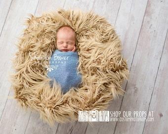 Newborn Photography Props, Cornflower Blue Nubble Newborn Stretch Baby Wrap Photo Prop, Newborn Photography Prop, Newborn Photo Prop, Blue