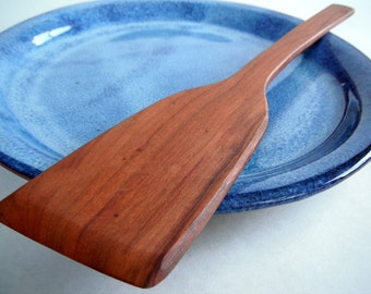 reclaimed plum spatula beautiful grain pattern
