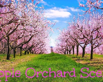 APPLE ORCHARD Scented Soy Wax Melts - Soy Tarts - Fruit - Nature -  Wickless Candle - Hand Poured USA - Strong Scent