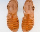 Handmade Roman Grecian leather sandals-NEW STYLE