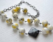 Bumble Glass Necklace