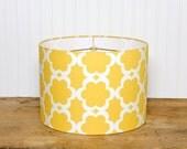 Drum Lamp Shade Lampshades Kumari Garden Taza Yellow