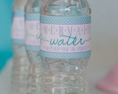 Mermaid Water Bottle Labels