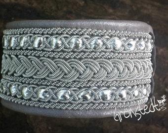 genuine Sami Lapland Swedish Bracelet - model ANNIKKA xtra wide