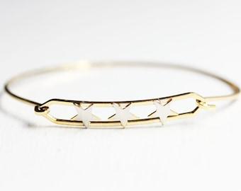 Three Stars Bracelet
