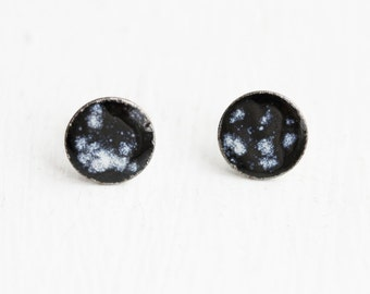 Sample Sale - Outer Space Circle Studs
