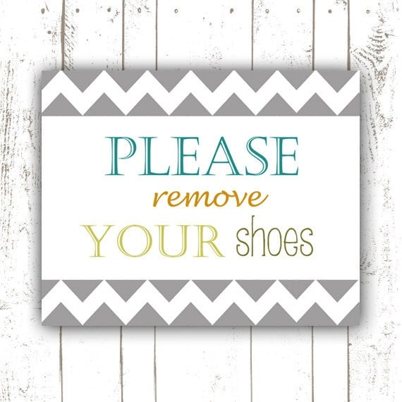 Geeky image with regard to please remove your shoes sign printable