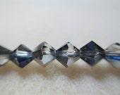 6mm Crystal Helitrope Preciosa Crystal Bicones Strand 21pcs