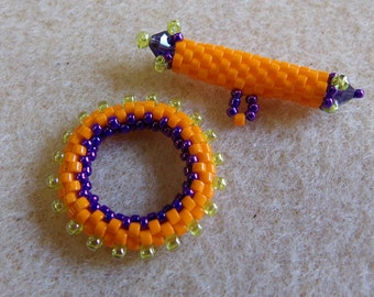 Beaded Toggle PDF Tutorial (INSTANT DOWNLOAD)