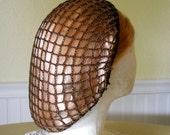 Fudge Brown Snood Hair Net