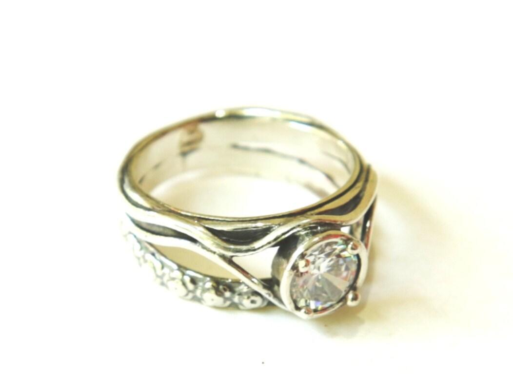 Bohemian Wedding Rings 031 - Bohemian Wedding Rings