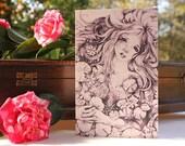Sorrow Star Water Nymph Greeting Card 5 x 7 Print of Original Drawing Fantasy Art