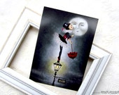 Rue des Roses - Postcard
