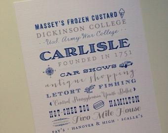 Carlisle 8 x 10 print