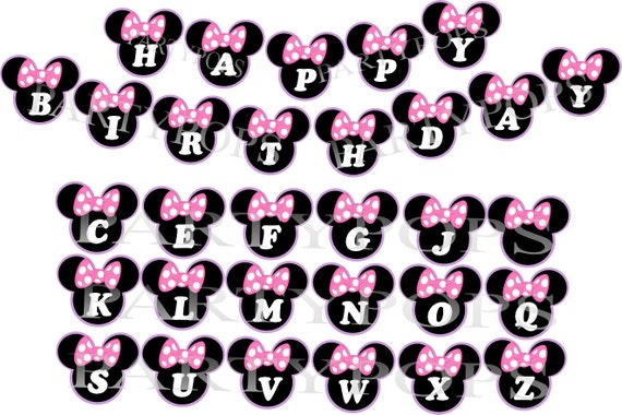 Minnie Mouse Banner Minnie Mouse Bow-tique Minnie Mouse