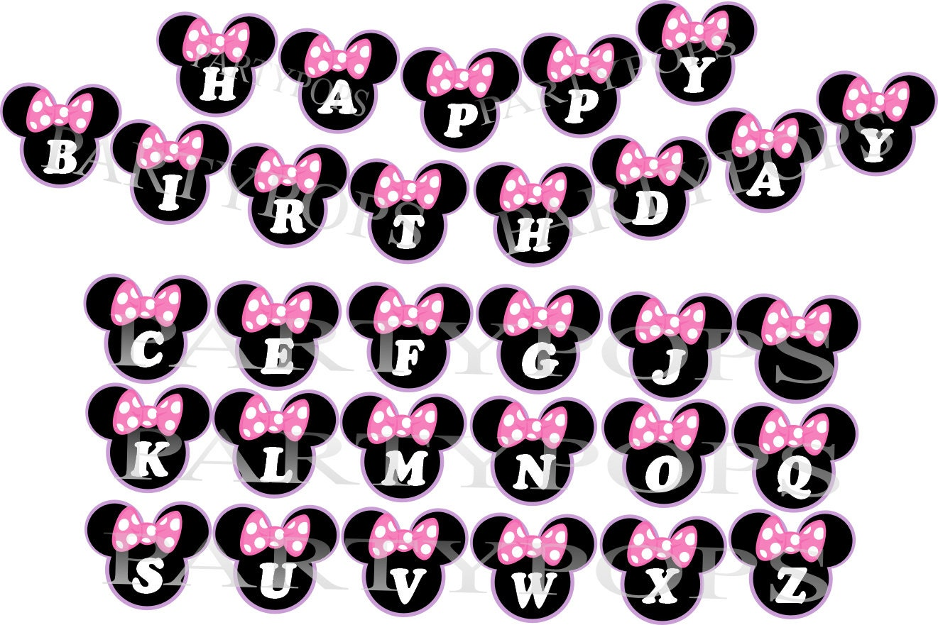 Minnie Mouse Banner Bow tique