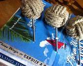Nautical Decor - 12 Cape Cod Drawer Pulls -  Drawer pulls and doorknobs in hemp