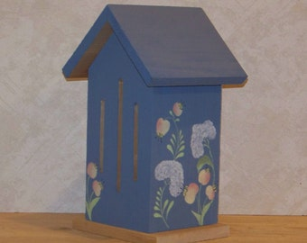Handpainted Butterfly House