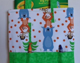 Jungle Book/Disney Classic Crayon Tote