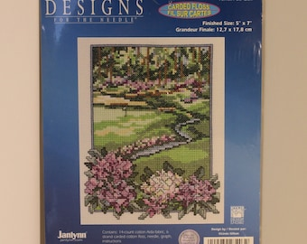 Golf Course Counted Cross Stitch Kit