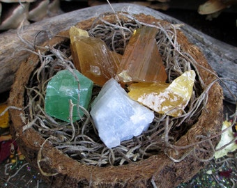 Rita's Calcite Ritual Crystal - Manifestation, Double Your Drawing Power, Abundance