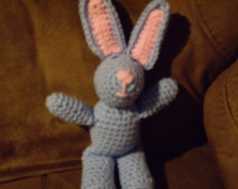 Easter Bunny-blue