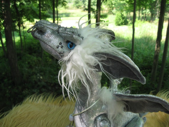 Shimmer - Nipper Dragon Reserved for Emily, not for purchase unless you are her