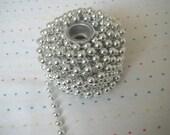 Destash Large Silver Bead Trim - 2 Feet