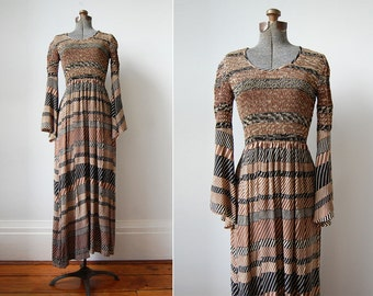 Dharma Dreams Maxi Dress/70's Maxi Dress/Hippie Bohemian