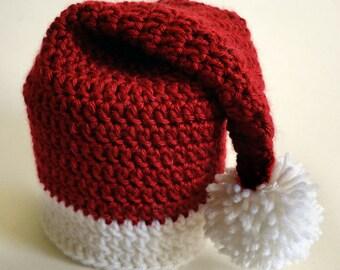 Santa Hat Toilet Paper Roll Cover - PDF Crochet Pattern - Instant Download